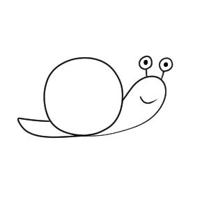 カタツムリ イラスト かわいい