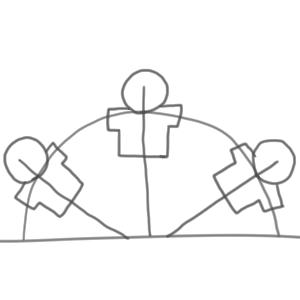 組体操 書き方