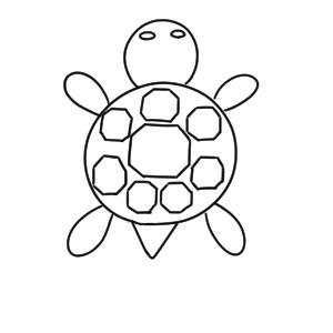 亀 イラスト かわいい