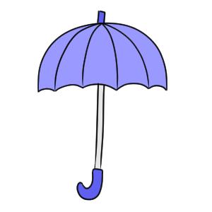 傘 書き方