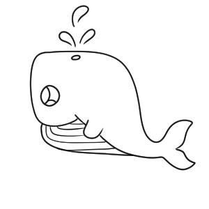 クジラ イラスト かわいい