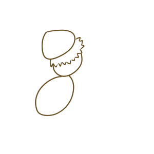 蜂 書き方
