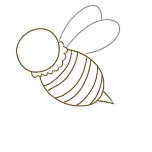 蜂 イラスト かわいい