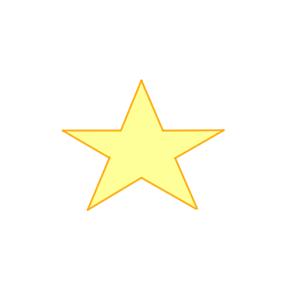 星 書き方