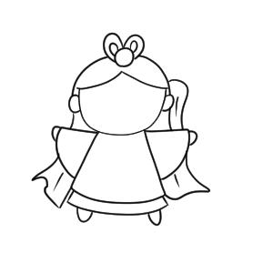 織姫 イラスト かわいい