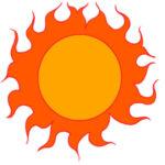 太陽の書き方は イラストのかわいい描くポイントは?