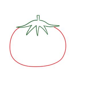 トマト イラスト かわいい