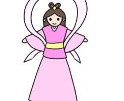 織姫 書き方 イラスト