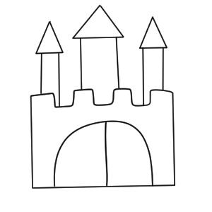 城 書き方