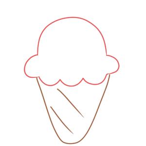 アイス イラスト 簡単