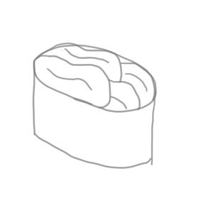 寿司 イラスト かわいい