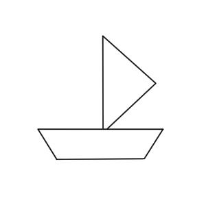 ヨット イラスト かわいい