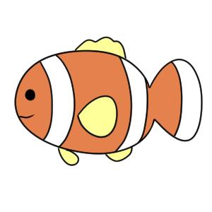 魚 イラスト 簡単