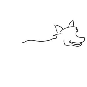 狐 イラスト 簡単