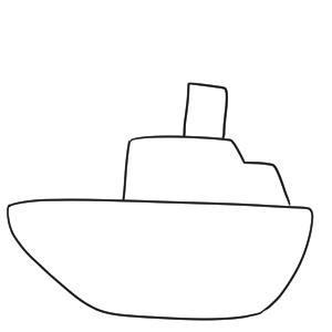 船 書き方