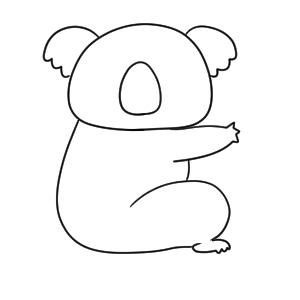 コアラ 書き方