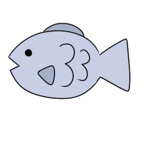 魚 書き方