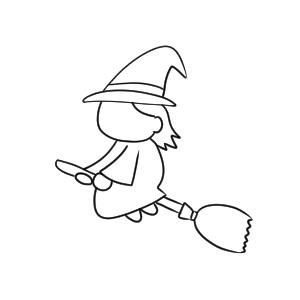魔女の書き方 イラストを簡単に描くポイントは?
