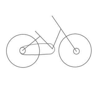 自転車 イラスト