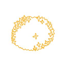 金木犀 イラスト 簡単