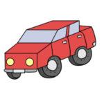 車の書き方 イラストを簡単に描くポイントは?