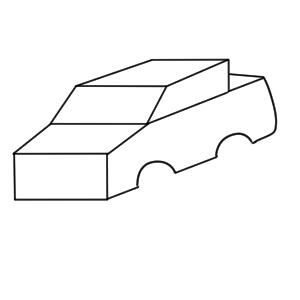 車 書き方