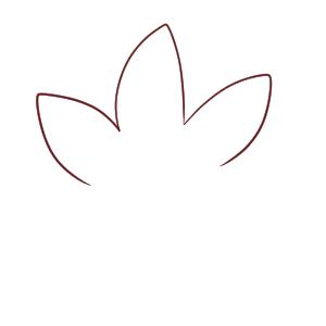 紅葉 イラスト 簡単