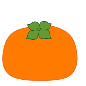 柿 イラスト 簡単