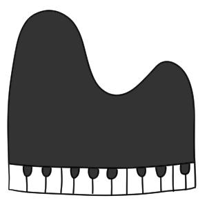 ピアノ 書き方