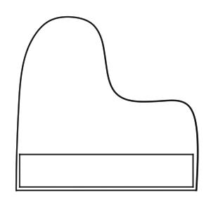 ピアノ イラスト 簡単