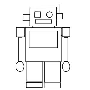 ロボット 書き方