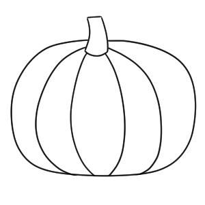 かぼちゃ イラスト 簡単