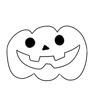 かぼちゃ 書き方