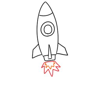 ロケット 書き方