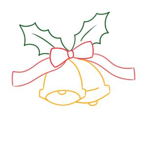 クリスマスベル 書き方