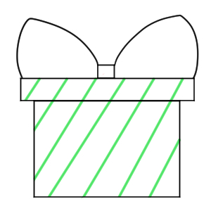 プレゼント 書き方