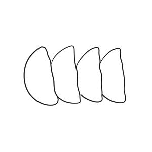 餃子 イラスト 簡単