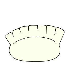餃子 イラスト 書き方 手書き