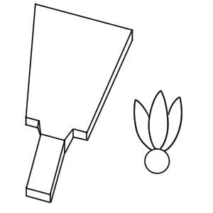 羽子板 イラスト 書き方