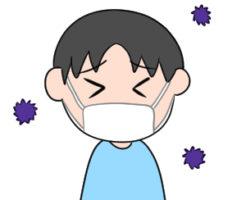 インフルエンザ イラスト 簡単