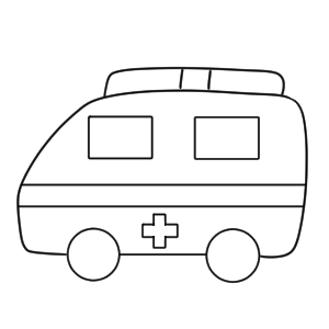 救急車 イラスト 簡単