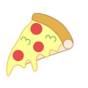 ピザ イラスト 手書き