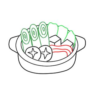 鍋 イラスト 書き方