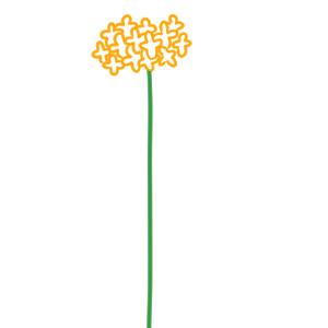 菜の花 イラスト 手書き