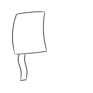 タコ(凧) イラスト 書き方