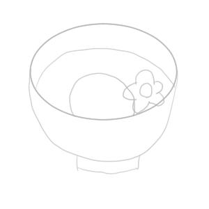 お雑煮 イラスト 簡単