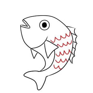 鯛 イラスト 手書き