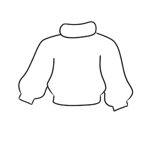 セーター イラスト 描き方
