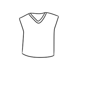 セーター イラスト 簡単
