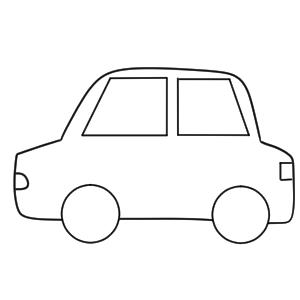 タクシー イラスト 簡単
